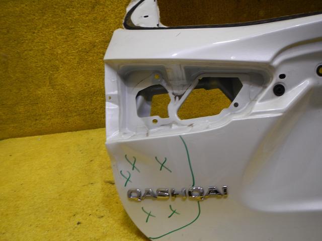 Крышка багажника Nissan Qashqai J11 (13-н.в.) K01004EAAA - 4