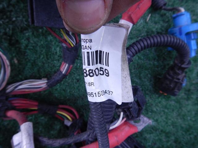 Жгут проводов моторного отсека Renault Logan 2 14-18 K7M 1.6 AT 240112718R - 4