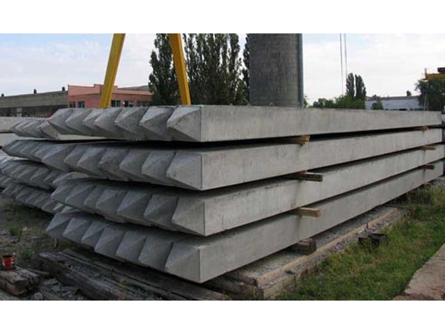 Сваи забивные железобетонные цельные для опор мостов - 1