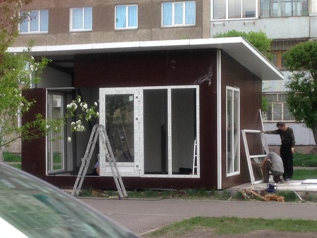 Строительство сборно-разборных павильонов - 2
